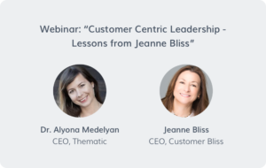 Customer-centric leadership – Lessons from Jeanne Bliss [video]