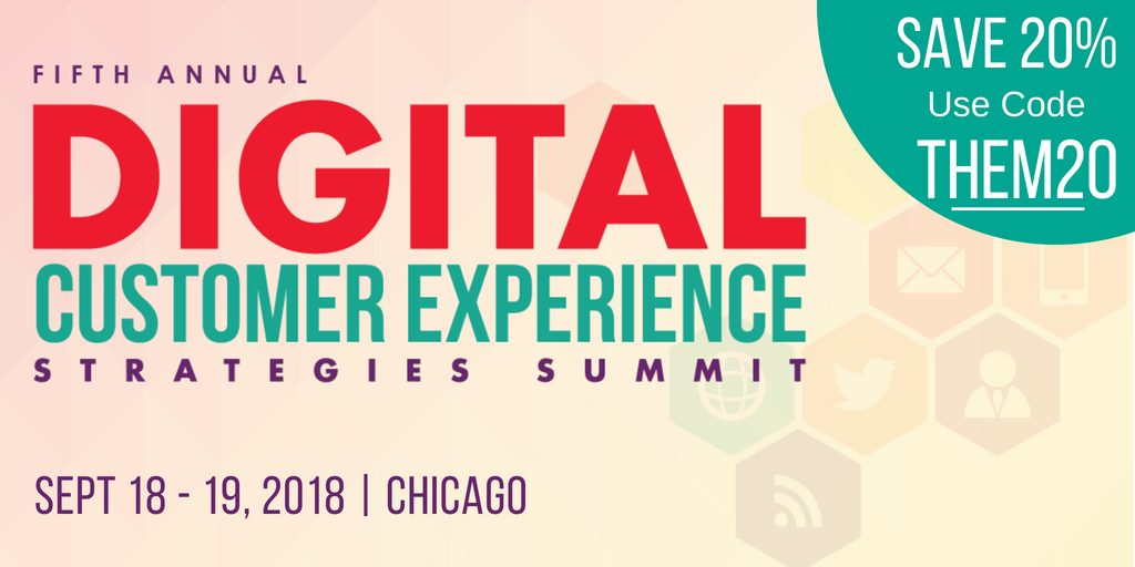 Thematic is sponsoring the Digital Customer Experience Strategies Summit 2018