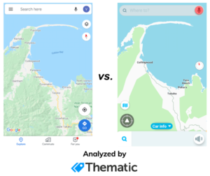 Google Maps vs Waze 2020  — Analyzing 10,000 App Reviews